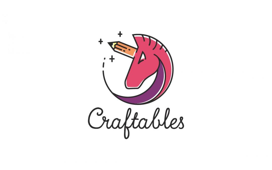Logo for an art supplies company