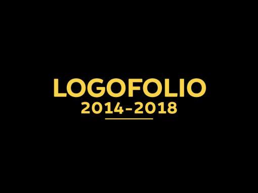 "<span style=""font-family: brocha-black; font-size: 15pt;"">Logofolio 2014 – 2018</span>"
