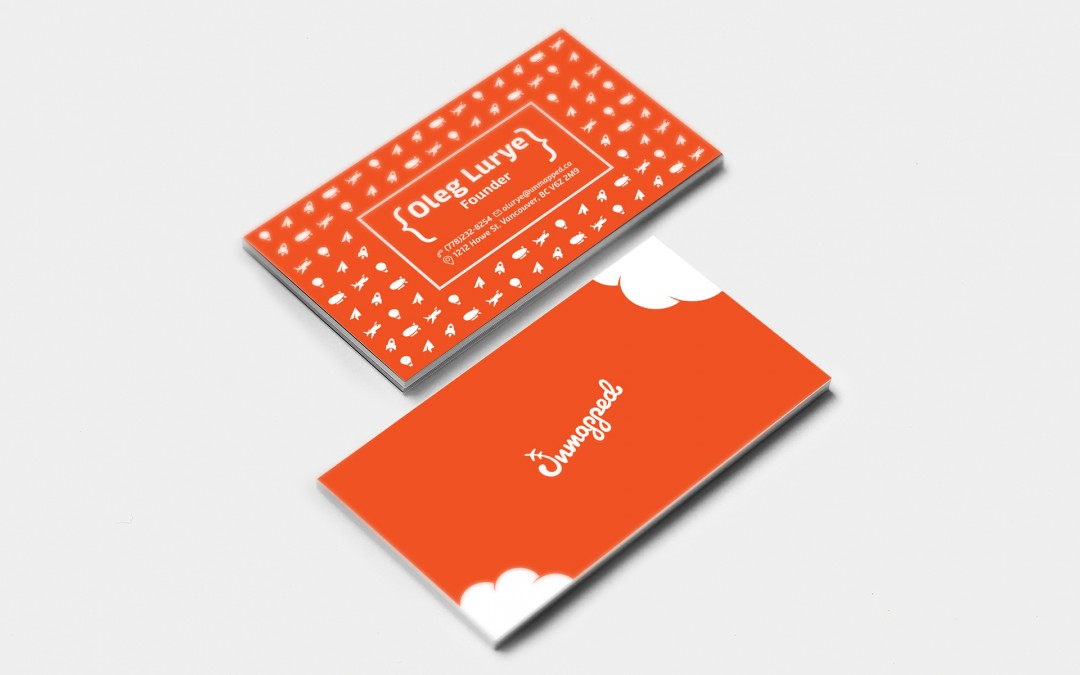 Unmapped business cards